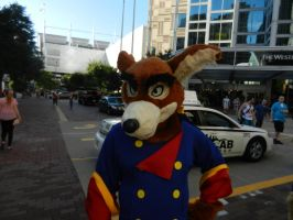 Don Kanarge walkaround costume - Anthrocon 2018 by dth1971