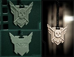 ME3 Executioner Award - Stainless by soupcan13