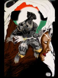 The Black Panther Color by kidjersey