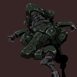 mech ground superiority obtained. by franswerfer