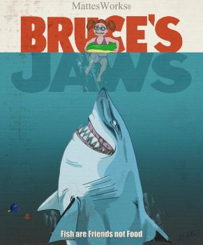 Jaws - Finding Nemo Crossover by MattesWorks