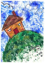 House on a Hill by dum-donutz