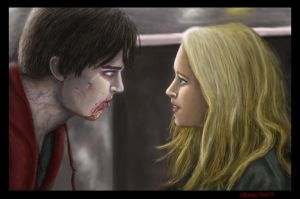 R and Julie from Warm Bodies by sphinxgah