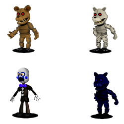 Adventure Unmonster Fnac 3 by Enderkiller1987