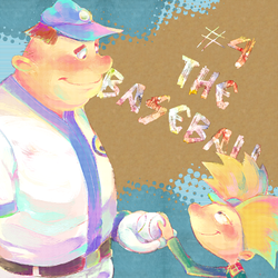 The Baseball by knknknk