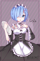 Rem by miolet