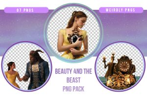 Beauty and the Beast PNG Pack by Weirdly-PNGS