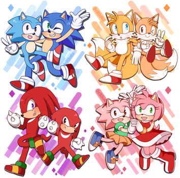 Sonic Gang by phloxsea