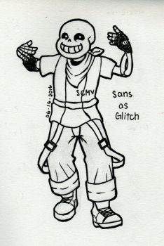 Dance Central AU = Sans by SnowCloudsMyVision