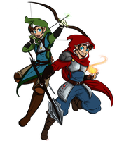 If Mario and Luigi were OluShade Characters... by Elwensa