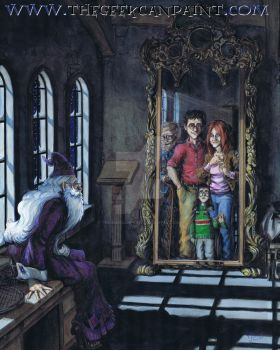 Harry Potter: Book 1 Chapter 12 Painting by TheGeekCanPaint