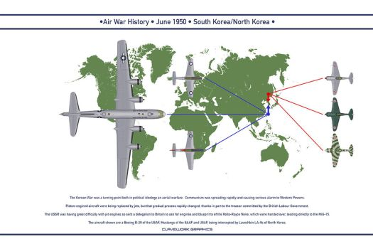 Air War 1950 June by WS-Clave