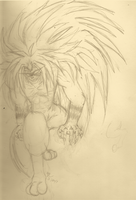 Tora Sketch (Ushio to Tora 2015) by ArtistforGod1