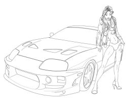 Street Racer by lordsethos