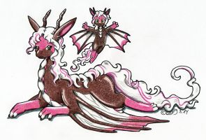 Rose the Dragoness by Wollfisch