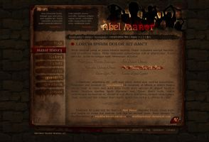 Abel Manor Website Preview by modblackmoon