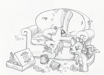 Artist Training Grounds Day 29 by Arctic-Lux