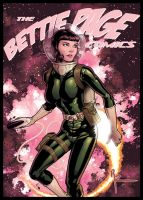 Bettie In Space by Guy-Bigbelly