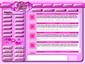 Pretty Pink Lavish Blog Skin