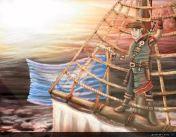 3D Character Creation - Skies of Arcadia Concepts by JCobes