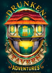 Logo: Drunken Tavern Adventure by Lord-Dragon-Phoenix