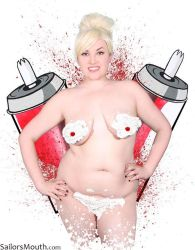Pam Poovey Whipped Cream Cosplay by SailorsMouth