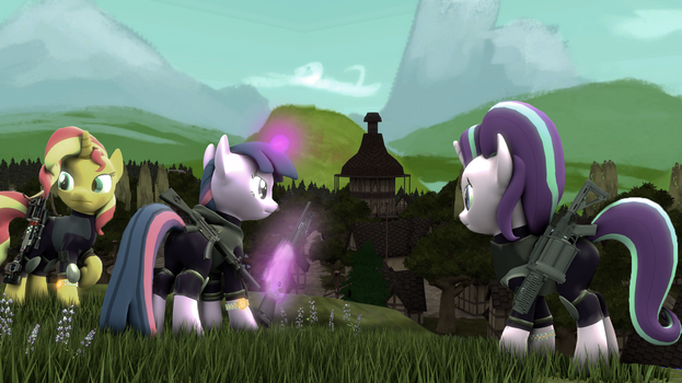[SFM Ponies] Sparks Division 2 by FD-Daylight