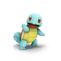 Squirtle, Smash Bros Trophy Render by Nibroc-Rock