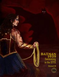 Batman 1939: Swimming in the Styx (Commission) by RespicePostTe