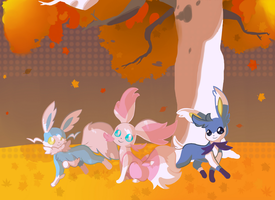 Aereon and friends by Wabatte-Meru