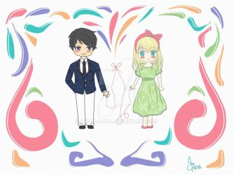 Red String of Fate - First love by ammy-ajaa