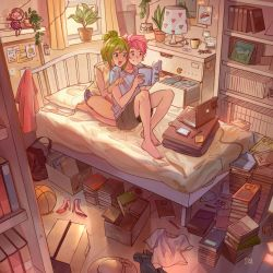 Afternoon Reading by simoneferriero