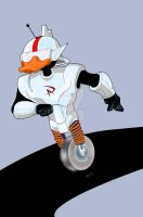 GIZMODUCK SPEED DRAWING +VIDEO by IDROIDMONKEY