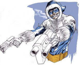 Captain Cold at Spitballin' by G-Spot1