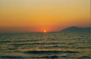 Sunset in Greece by darkryan2030