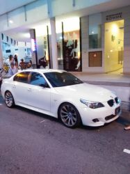 White BMW M5 E60 by Amgnismo