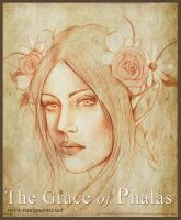 The Grace of Phalas sketch by chicourano
