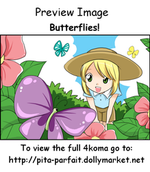Butterflies - 4koma - Preview by Pita-Parfait