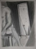 Male Study 4, with Mirrors by CheVD