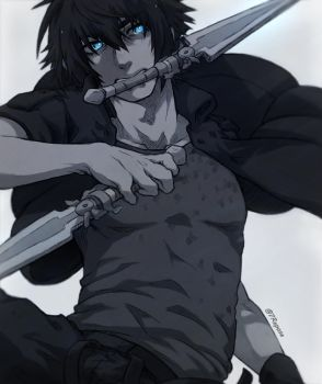 FFXV - Noct by 7Repose