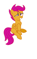 Scootaloo not doing anything in particular. by TheLordofPies