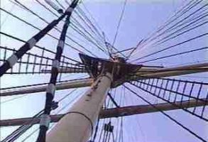 Up the mast by ArtieWallace