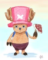 Tony Tony Chopper by GemmaSuen