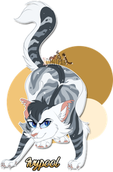 Ivypool - Warriors Cats (5/100) by Denicah