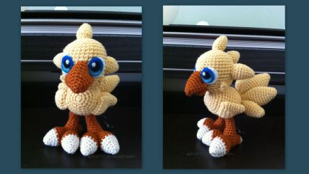 Baby Chocobo (with pattern) by aphid777