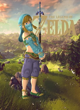 Link - Breath of the Wild (Gerudo Girl) by Hakirya