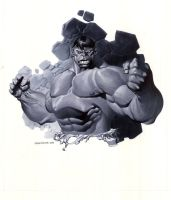 Hulk bust by ChristopherStevens