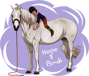 Horse + Rider Design: SOLD by sealle