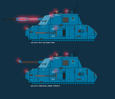 Goliath Support Tank by EmperorMyric