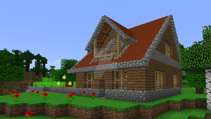 Minecraft - Wooden house 2 by Timidouveg